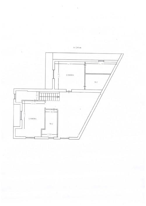Camera Da Letto Con Parete Obliqua : Come arredare cucina e salone dalla pianta irregolare