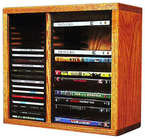 Cd/Dvd Storage Cabinet - Storage Cabinets - by The Wood Shed