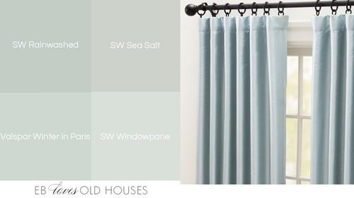 Paint Color Similar To Sea Salt But With Blue Undertones