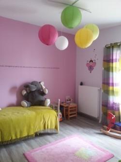 Aménagement d'une chambre d'enfant.