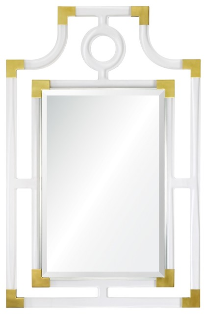 Tall Wall Mirrors tall acrylic mirror - transitional - wall mirrors -bseid