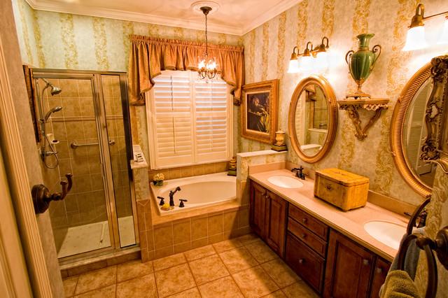 custom traditional bathroom tampa by mario