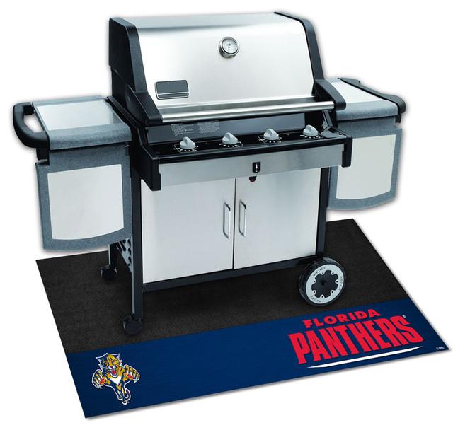Florida Panthers Bbq Grill Mat.