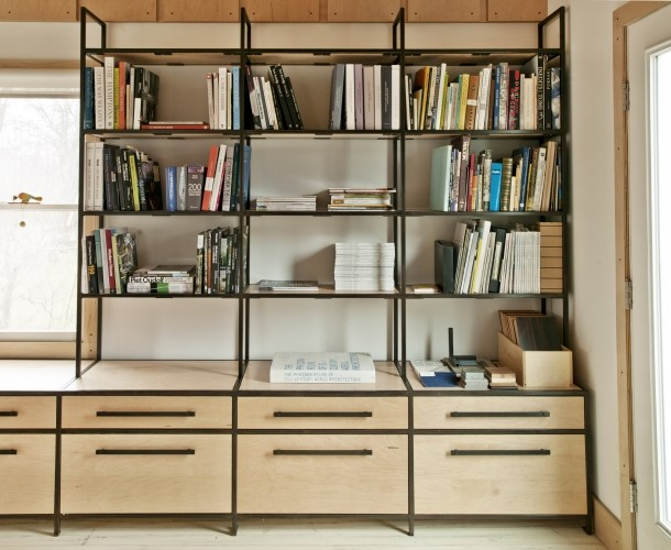 working atelier new york af reza nouranian design Bookcases and Shelves Custom Bookcases and Shelves in Photos