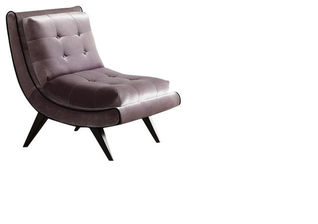 Tremendous 5Th Avenue Armless Swayback Lounge Chair Gray Spiritservingveterans Wood Chair Design Ideas Spiritservingveteransorg