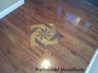 Wood Floor Medallions and Inlays traditional