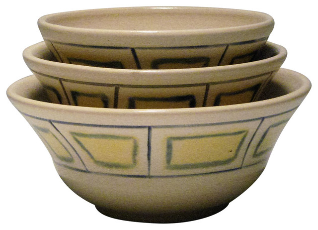 Porcelain Nesting Bowls - Transitional - Dining Bowls - by Pelican Studio