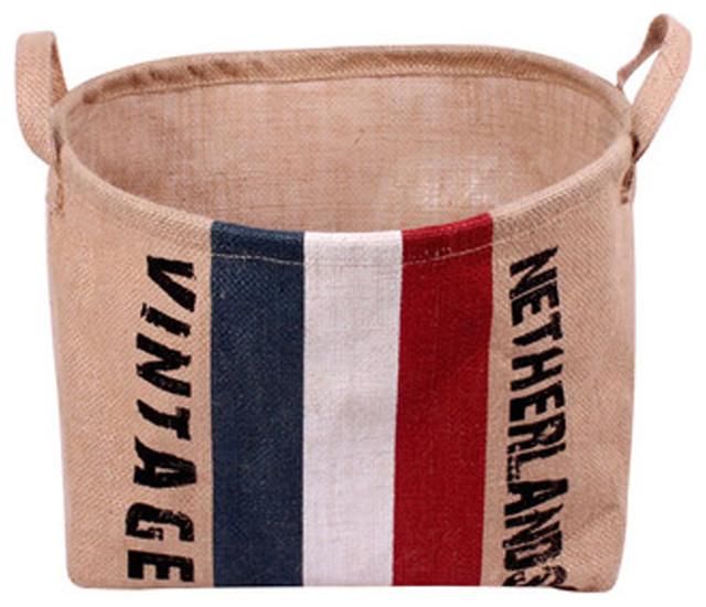 Foldable Laundry Basket Storage Basket Practical Basket Holland Flag.