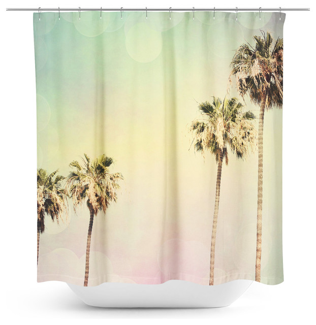 Palm Trees 2 Shower Curtain Shower Curtains By Sylvia C Photography