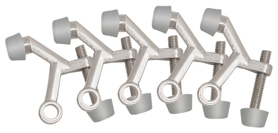 Design House 181826 Jumbo Hinge Pin Door Stop 10-Pack Polished Brass