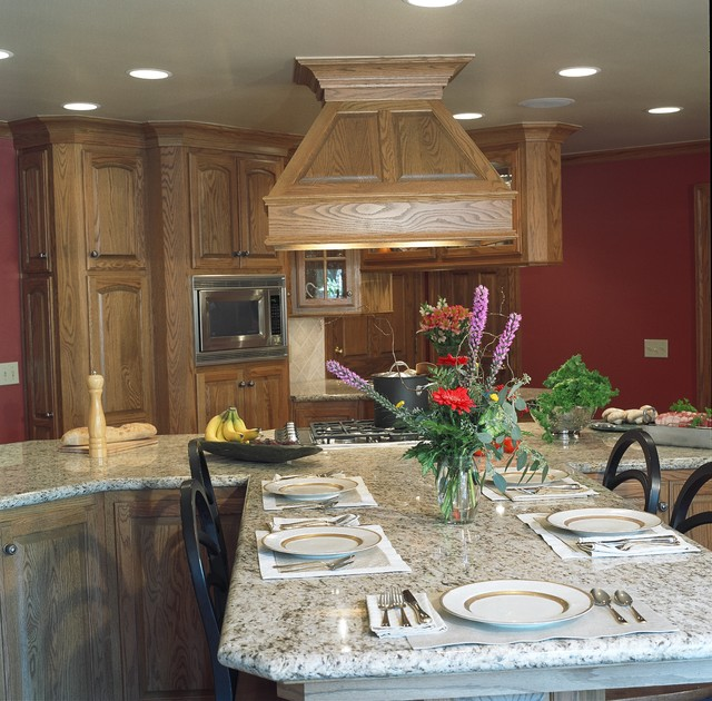 Family Friendly Kitchen - Rockwood Hills Manor - Traditional - Kitchen ...