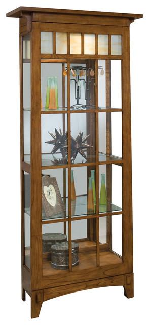Roycroft Curio Cabinet.