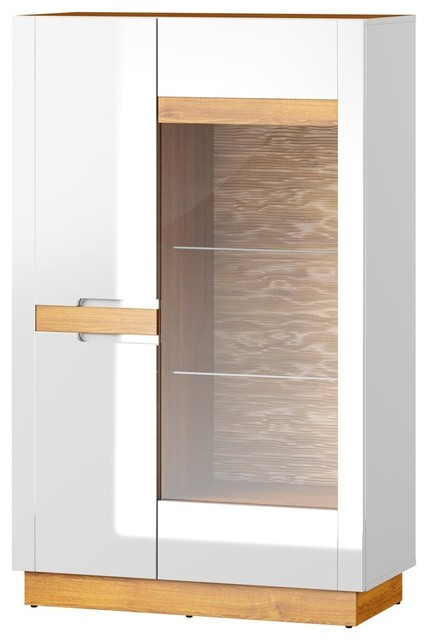 Visio 2 Doors Display Cabinet.