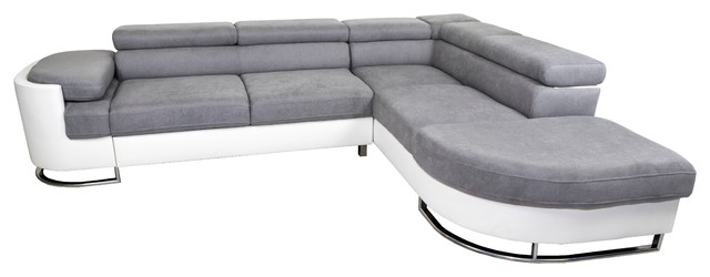 ICE Right Corner Sectional Sofa Bed - Contemporary - Sleeper Sofas ...