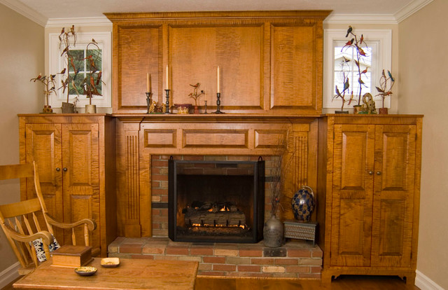 mantles and fireplaces traditional cincinnati by the