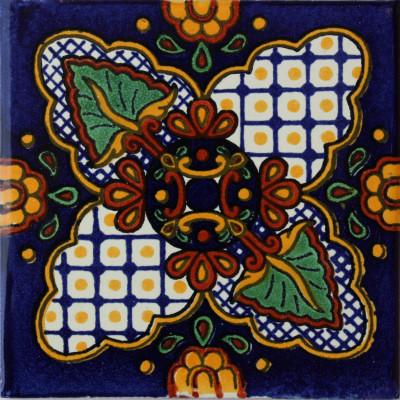 6x6 4 pcs Calabria Talavera Mexican Tile