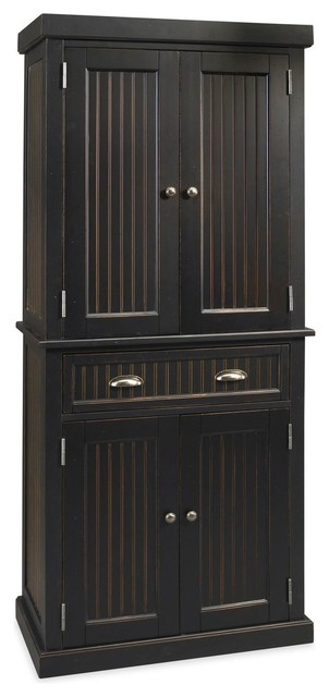 De Clare Pantry, Distressed Black.