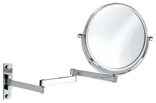 extendable magnifying bathroom mirror dwba wall cosmetic makeup magnifying swivel and extendable 18258
