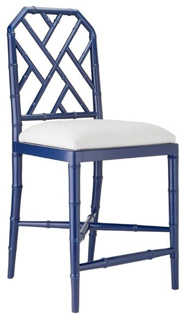 Amazing Bungalow 5 Jardin Counter Stool Navy Blue Unemploymentrelief Wooden Chair Designs For Living Room Unemploymentrelieforg