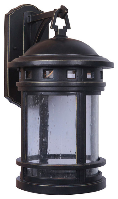 Revere 1 Light Outdoor Wall In Rustic Bronze Lights And Sconces By Lighting New York