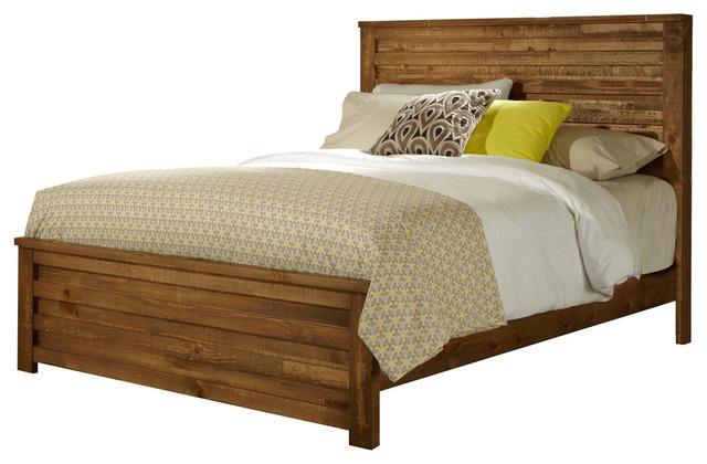 Arlene Wooden Bed, King.