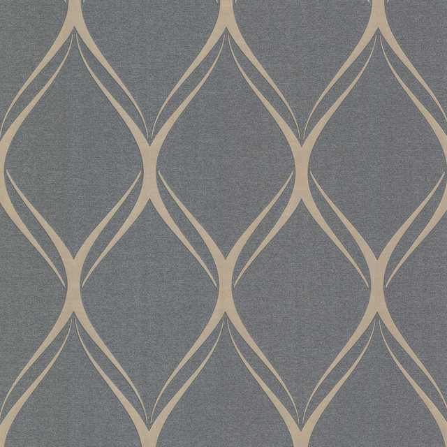 Platinum Decorline Geometric Wallpaper Contemporary