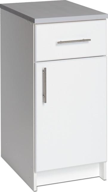 Prepac 16 Base V Drawer/door White.