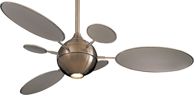 "Minka Aire F596-Bn Cirque Brushed Nickel 54"" Ceiling Fan With Wall Control."