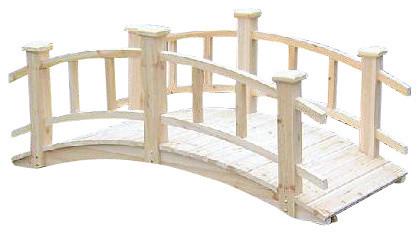 """Winchester Cedar Wood Bridge, 28""""w X 26""""h X 60""""l."""