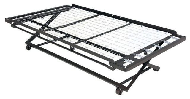 """39"""" Link Spring 66 Pop-Up Trundle For Daybeds With Dual Gravity Locks, Twin."""