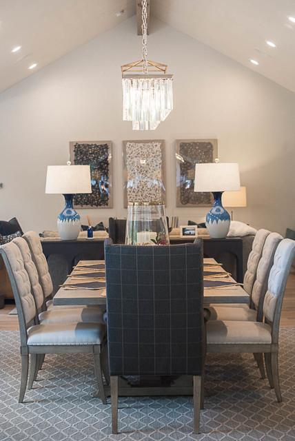 Inspiration for a transitional home design remodel in Salt Lake City