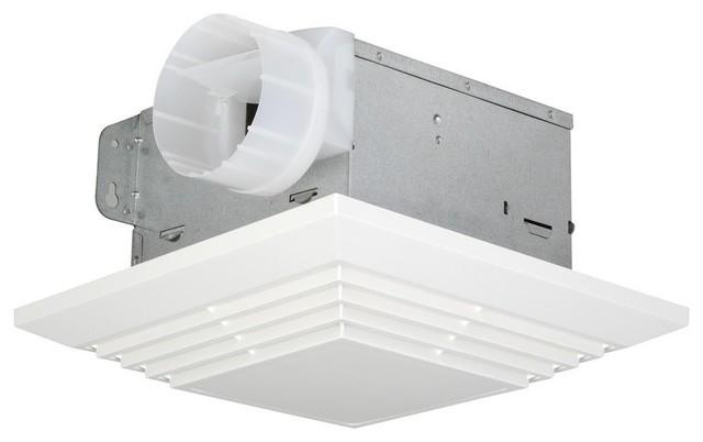 90 Cfm Bathroom Exhaust Fan White.