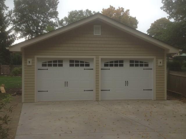 attic ideas houzz - 2 Car Detached Garage