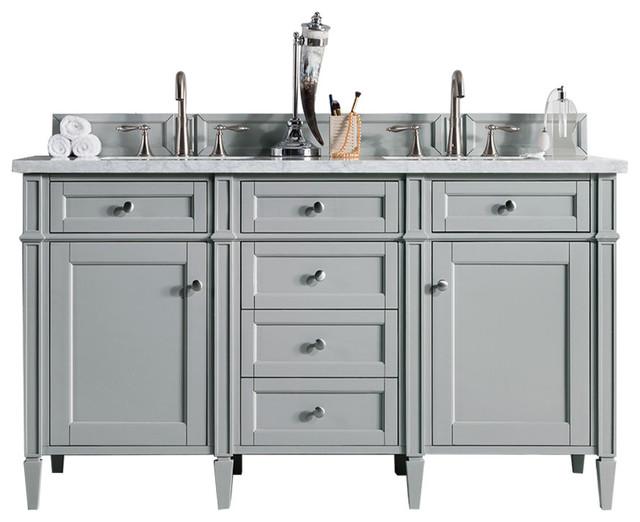 Aberdeen Bathroom Vanity Cabinet, Urban Gray, No Top, 60.