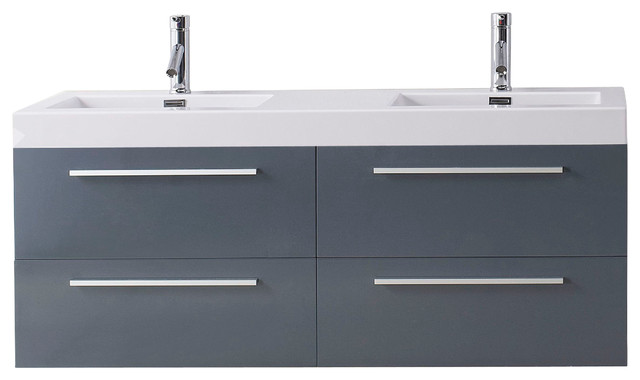 Trend Contemporary Bathroom Vanities And Sink Consoles by Virtu Usa Inc