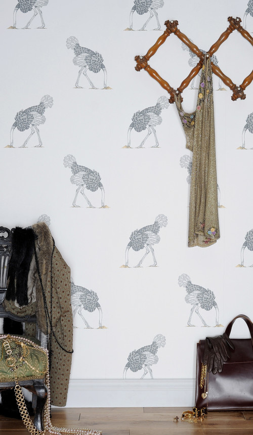 The Wallpaper Collective - installed images contemporary living room