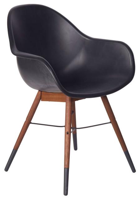 Chamonix Bucket Chair Black