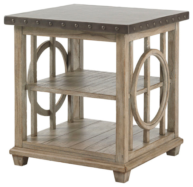 Lexington Twilight Bay Wyatt Lamp Table 352 952 Farmhouse Side Tables And