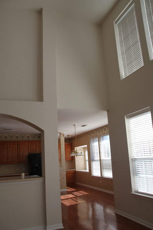 Need Help To Make High Ceiling Family Room Feels Cozy