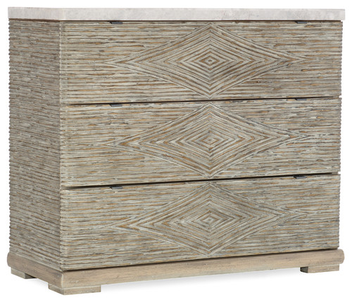 Amani 3-Drawer Accent Chest