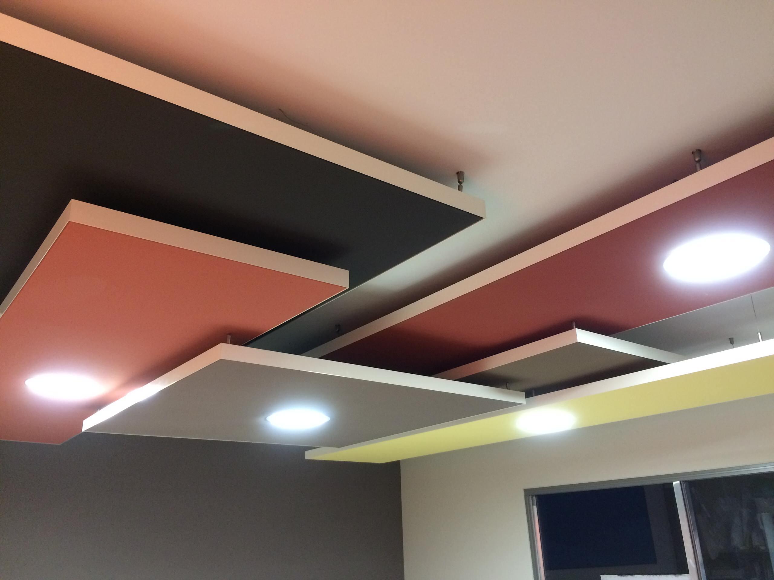 Plafond et mur tendus Clipso