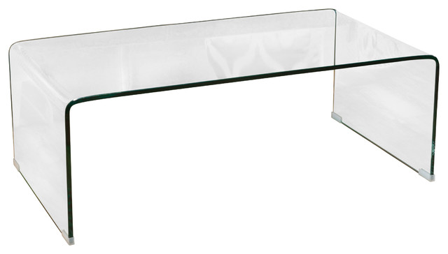 Clon Gl Rectangle Coffee Table