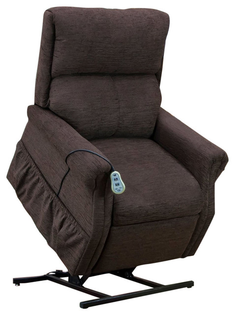 Med Lift Two-Way Reclining Lift Chair, Encounter, Chocolate by Medlift