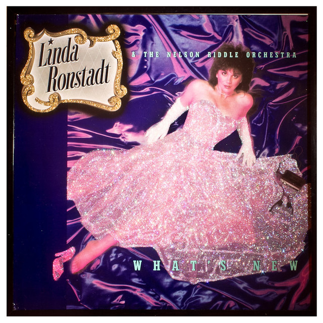 Glittered Linda Ronstadt What's New Album - Contemporary - Artwork - by mmm designs