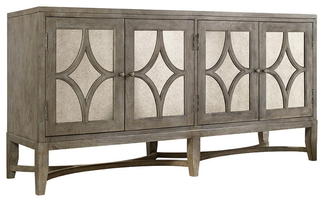 Diamante Console Transitional Buffets And Sideboards