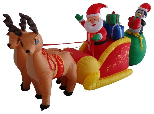 Christmas Inflatable On