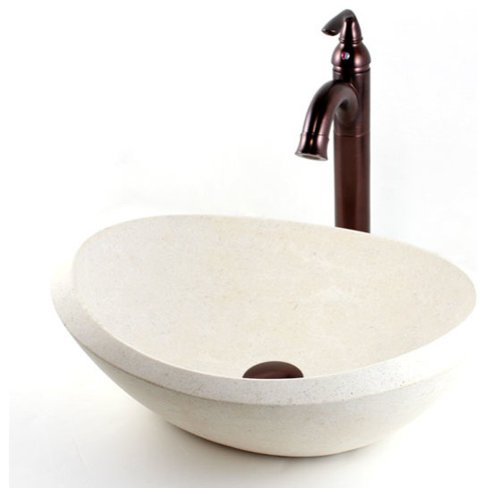 beige bathroom sink oman beige marble bathroom lavatory vessel sink 19 x 14 12033 | modern bathroom sinks