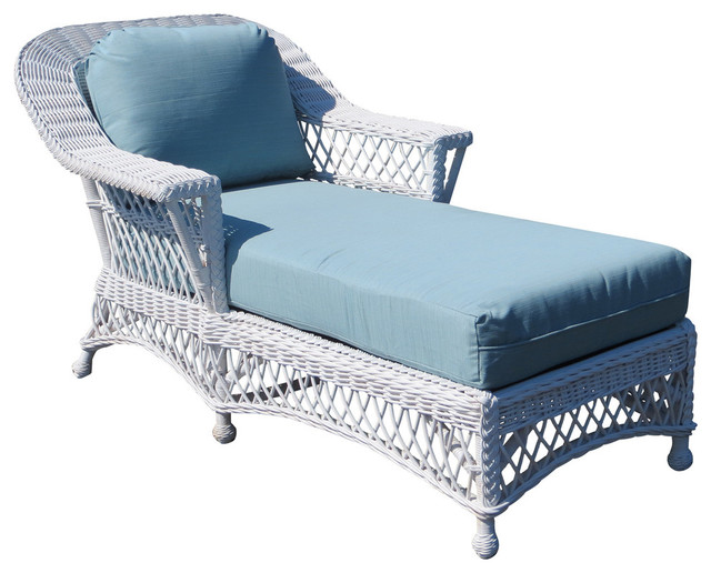 Spice islands wicker bar harbor chaise lounge reviews for Chaise lounge bar