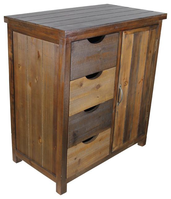 Merl Wood Storage Cabinet.