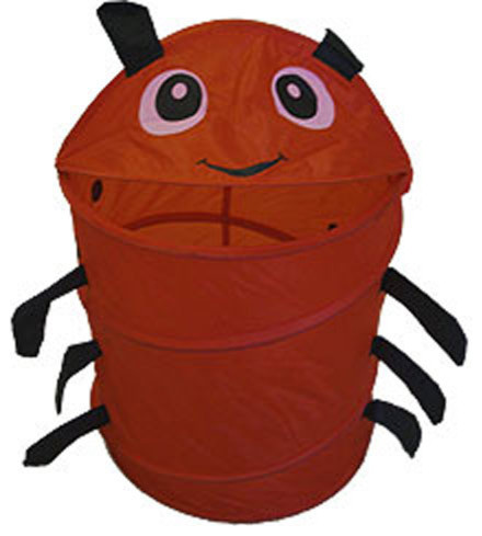 Red Ladybug Animal Insect Nylon Hamper-Storage Basket.